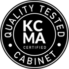 KCMA certified kitchen cabinets