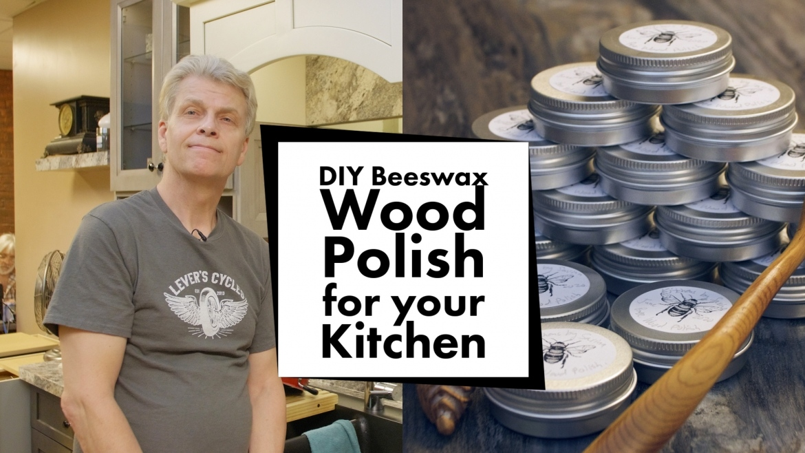 DIY Beeswax Wood Polish for your Kitchen
